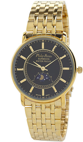 Philip Persio Gold Wristwatch