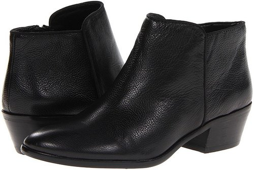 Sam Edelman - Petty (Black Leather) - Footwear