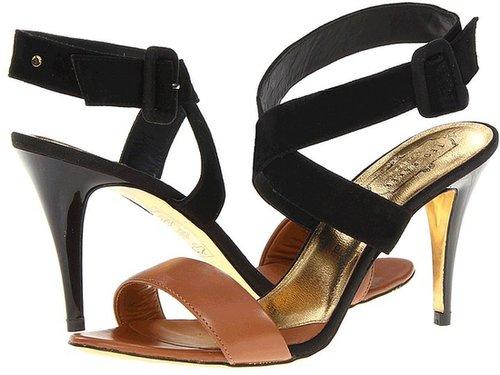 Ted Baker - Jolea (Tan/Black Suede) - Footwear