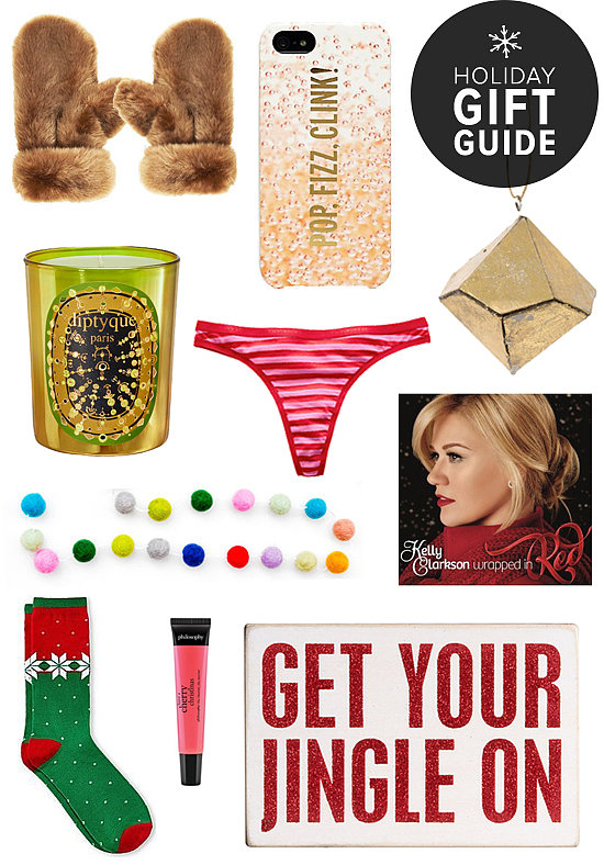 "Take the initiative, and shower your girlfriends with these POPSUGAR Love & Sex gifts that scream ""ho, ho, ho!"" In other words, get your jingle on, girl."
