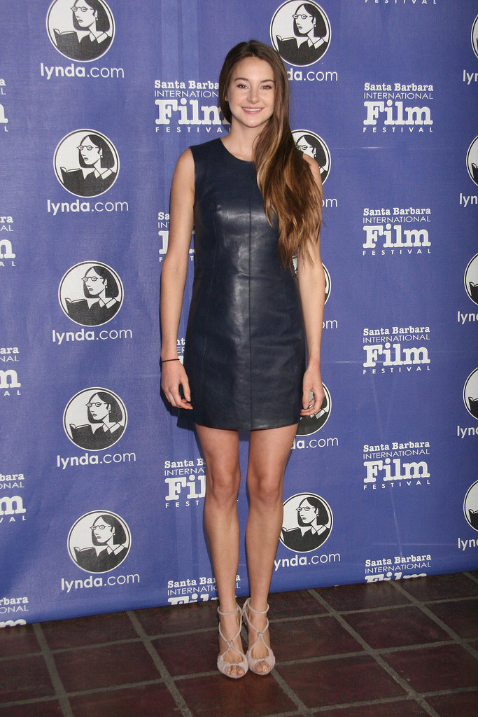 Shailene Woodley in Leather 3.1 Phillip Lim Mini at the 2012 Santa Barbara International Film Festival