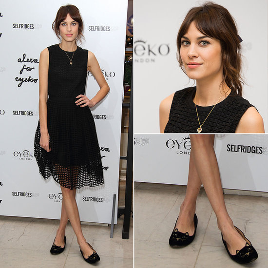 Alexa Chung's Cat Loafers