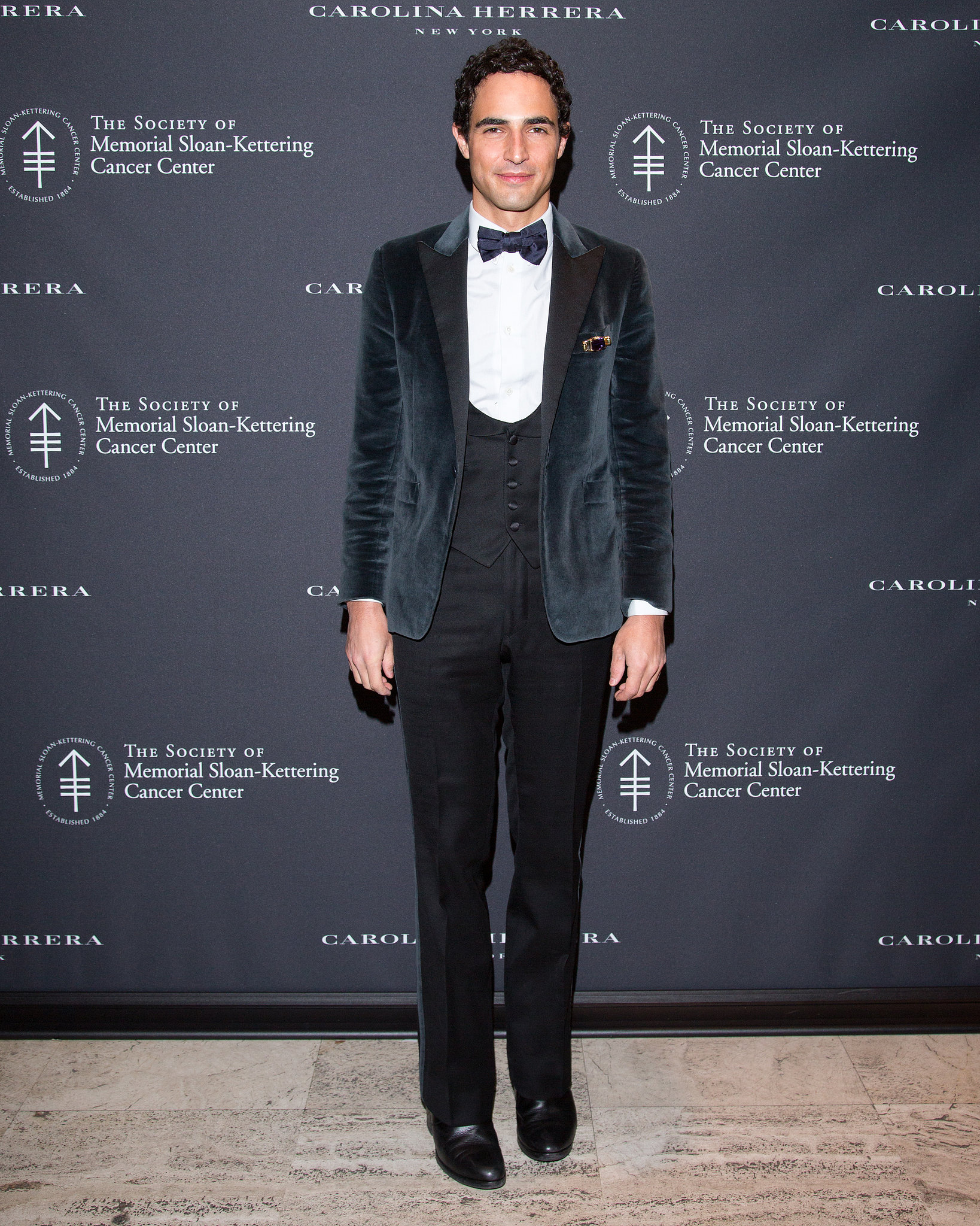 Zac Posen at The Society of Memorial Sloan-Kettering Cancer Cent