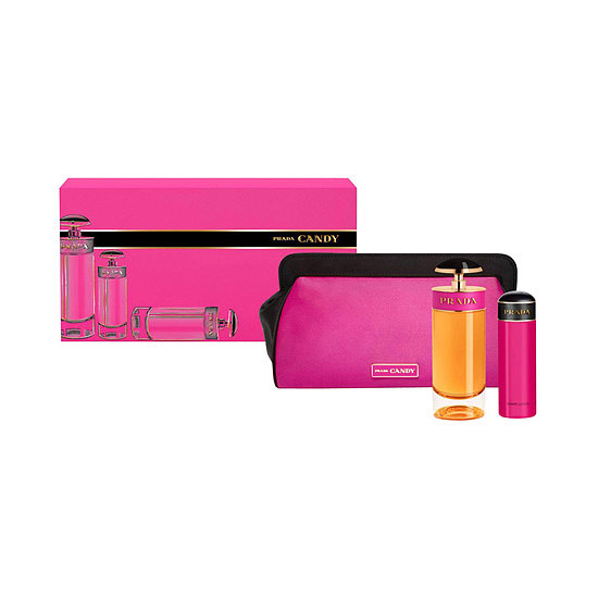 With Prada's Candy set ($115), you'll give her two ways to wear the designer: through a limited-edition caramel- and musk-scented perfume and body lotion plus a bright pink pouch.