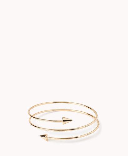 FOREVER 21 Coiled Spike Bracelet