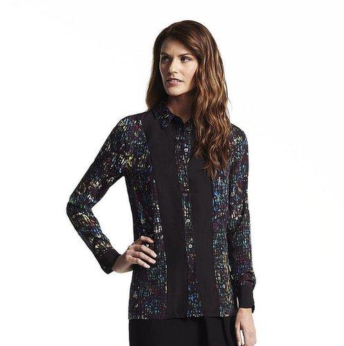Derek lam for designation splatter blouse