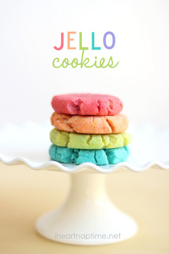 Jello Cookies and Play Dough