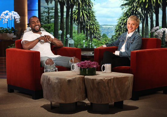 Kanye West Talking About North on The Ellen DeGeneres Show