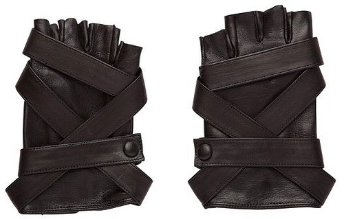 Todd Lynn Black Parker Gloves