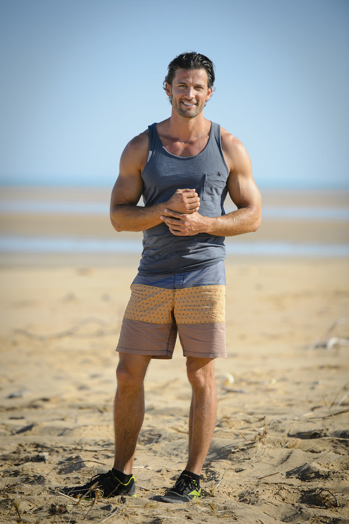 Tim showed off his guns in Broome (much like every other episode).