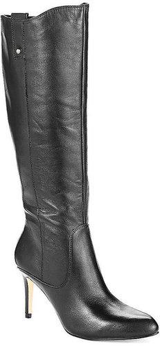 IVANKA TRUMP Flat-heeled leather boots