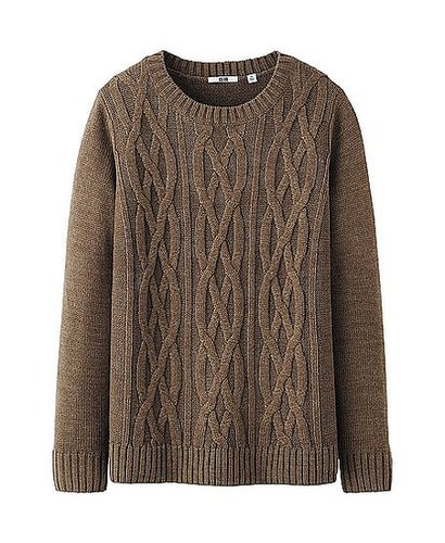WOMEN CABLE SWEATER