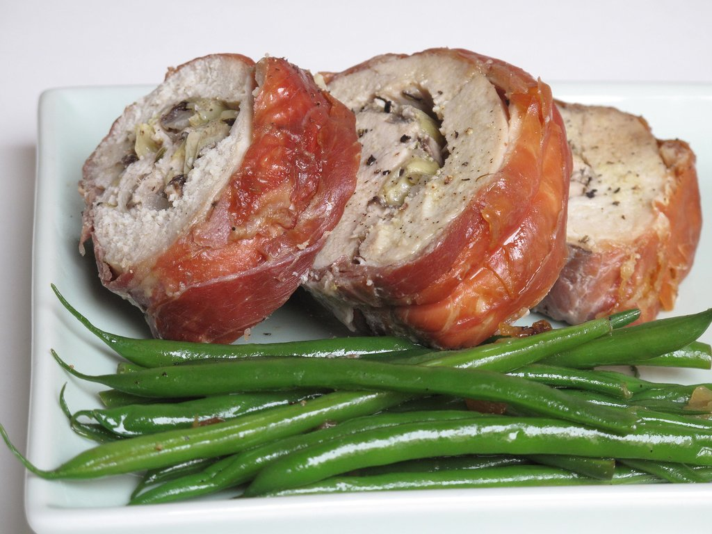 Prosciutto-Wrapped Turkey Roulade