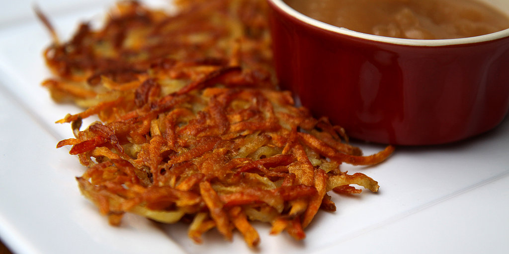 Sweet Meets Savory in These Sweet Potato and Carrot Latkes