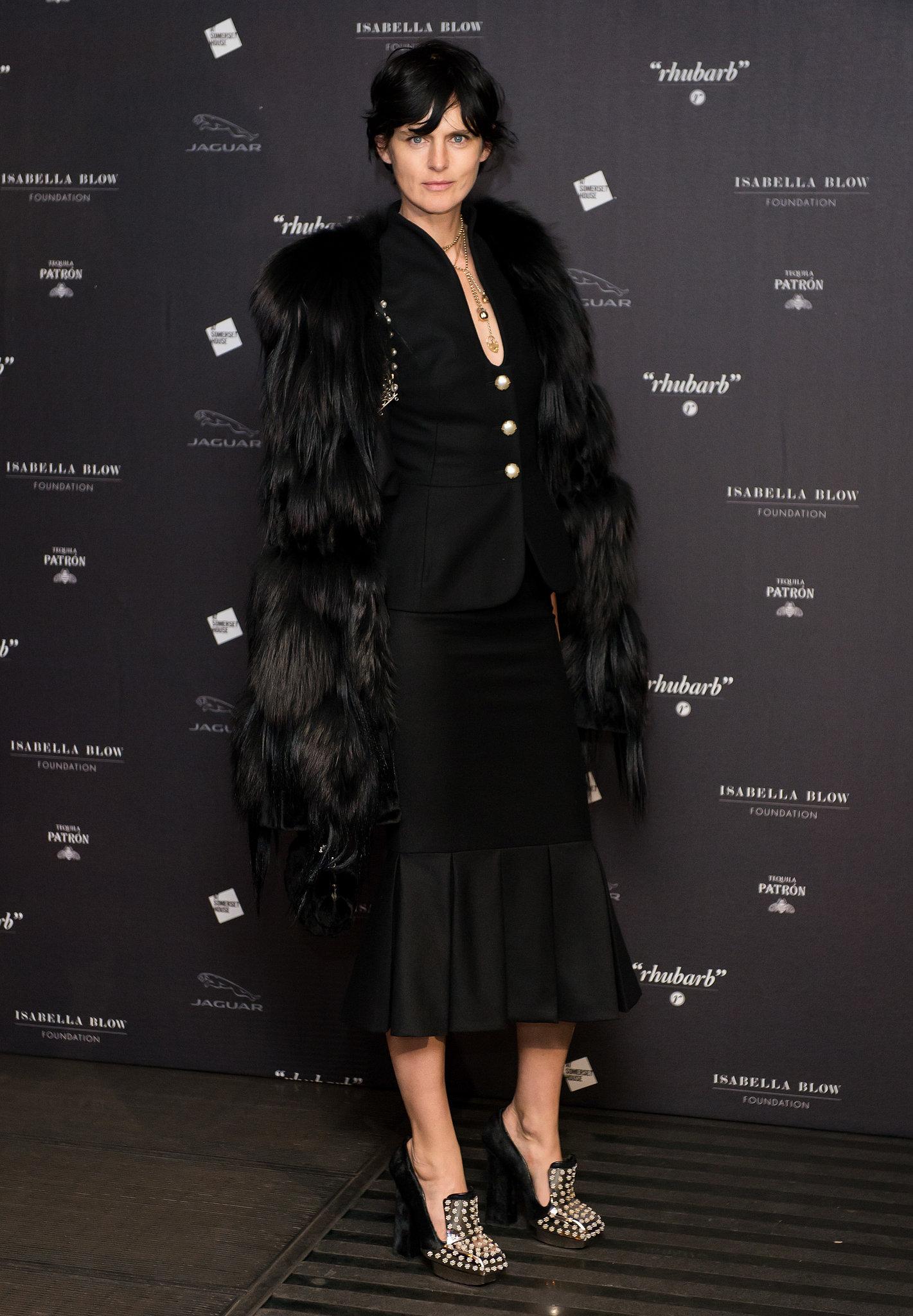 Stella Tennant at Fashion Galore!