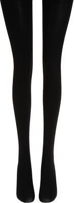 Fogal 100 Denier Noir Opaque Tights - Absolute Black
