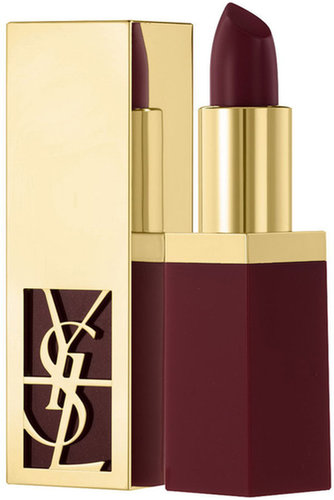 Dark lipstick doesn't have to be scary. The plum trend has been around for a few seasons now and embraced by celebrities like Selena Gomez and Jennifer Lawrence. I'm ready to get on board with the help of Yves Saint Laurent Rouge Pur Shine Sheer Lipstick ($32). — Annie Gabillet, news editor