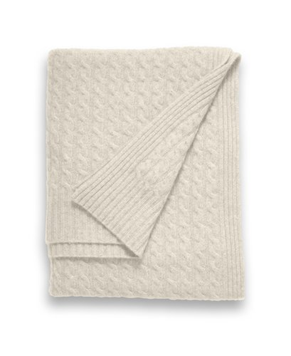 Is there anything more luxurious than cashmere? Sofia's cashmere knit throw blanket ($800-$1,150) is a plush pick that can be used year-round.  — Laura Marie Meyers, assistant news editor
