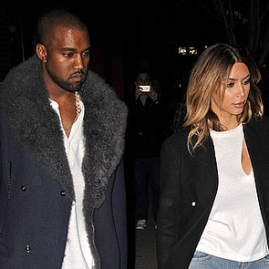 Kim Kardashian and Kanye West Dressed as Twins