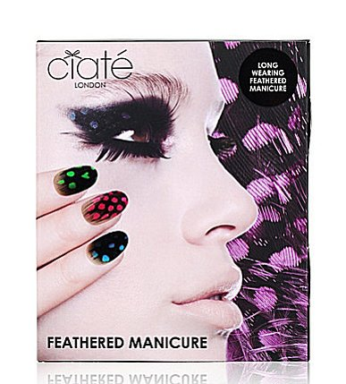 The nail-art trend is still alive and well, and Ciaté's feathered manicure set ($25) is poised to be the next big thing in the world of designer digits. I'd snap up one of these kits for myself and another as a gift for my little sister and use the DIY time as an opportunity to catch up. — Lindsay Miller, entertainment editor