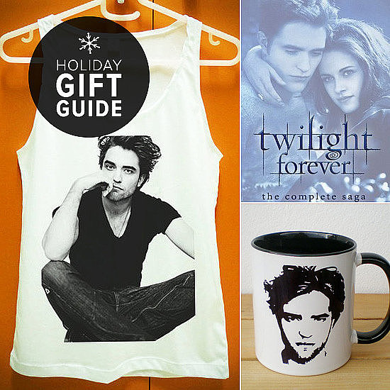 The Twilight craze may be just about over, but love for Edward Cullen — or more specifically, Robert Pattinson — never fades. If you've got a Pattinson superfan on your shopping list this year, then rest assured POPSUGAR Entertainment has got you covered with a ton of merchandise that will keep Team Edward support alive all year long.