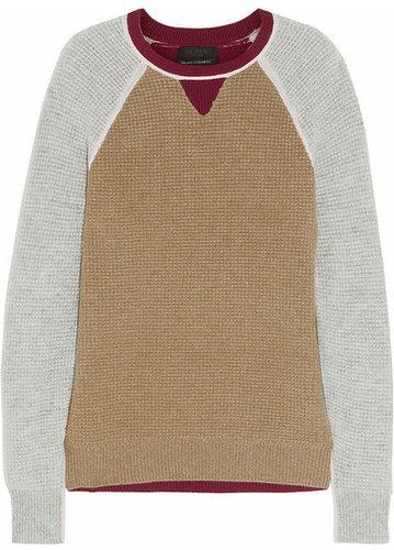 J.Crew Paxton waffle-knit cashmere sweater