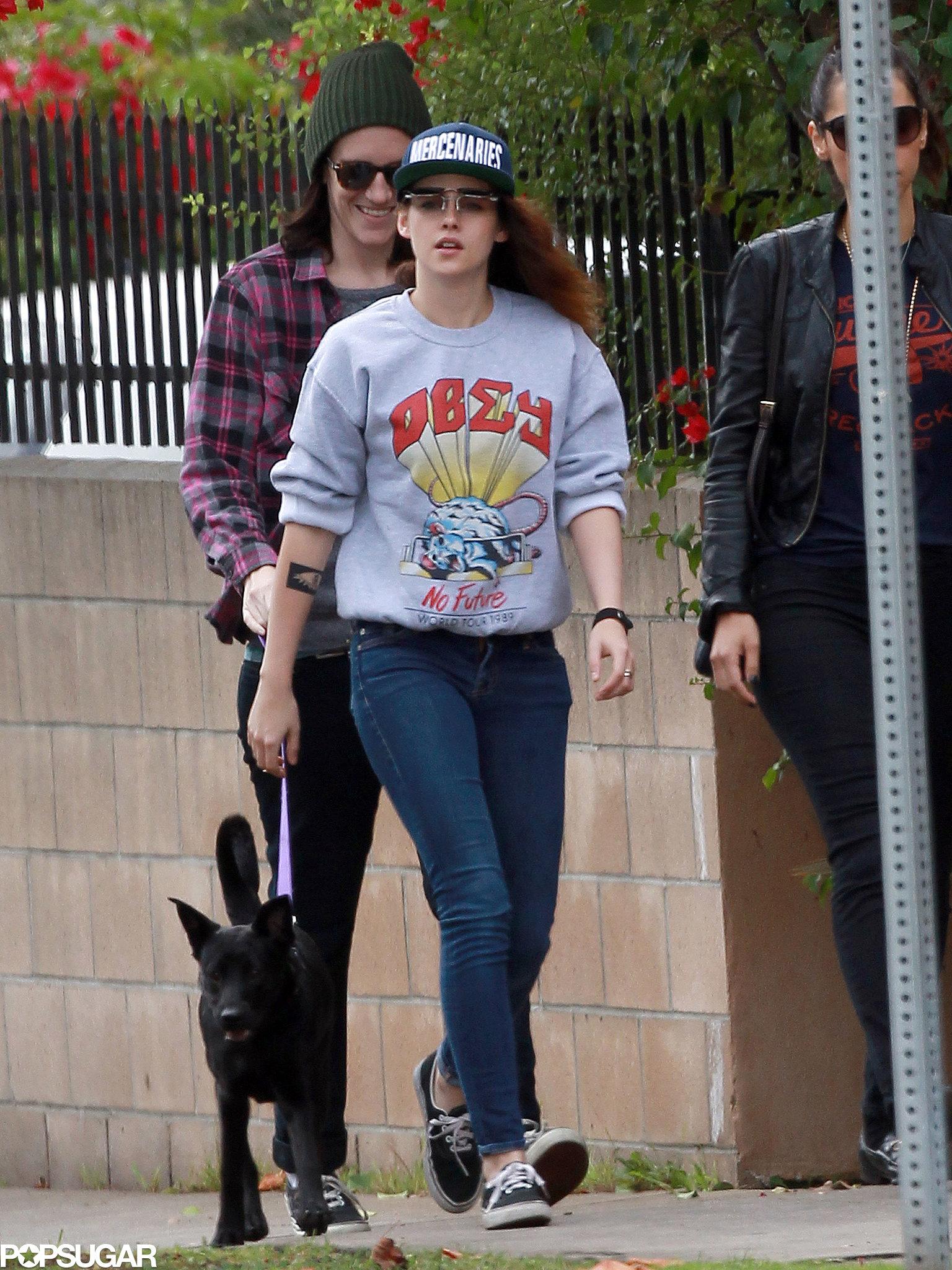 Kristen Stewart Flips Out in LA — See the Pics!