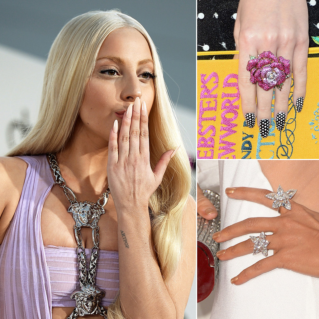 Celebrity Nails From The 2013 Award Shows POPSUGAR Beauty