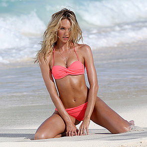 Victoria's Secret Angel Candice Swanepoel In A Bikini