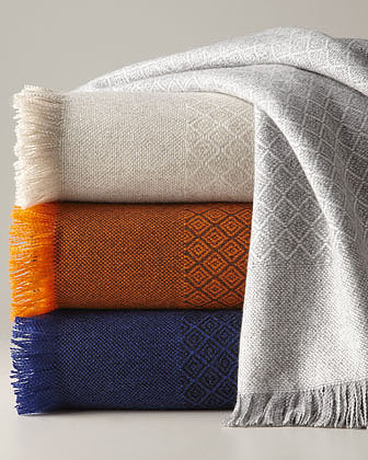 NM EXCLUSIVE Cashmere Throw