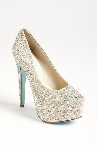 Betsey Johnson Blue by Betsey Johnson 'Wish' Pump