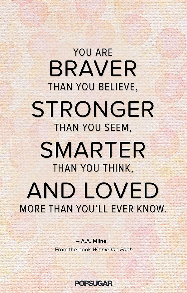 I Love You Quotes Books : ... Pooh 23 of Our All-Time Favorite Kids Book Quotes POPSUGAR Moms
