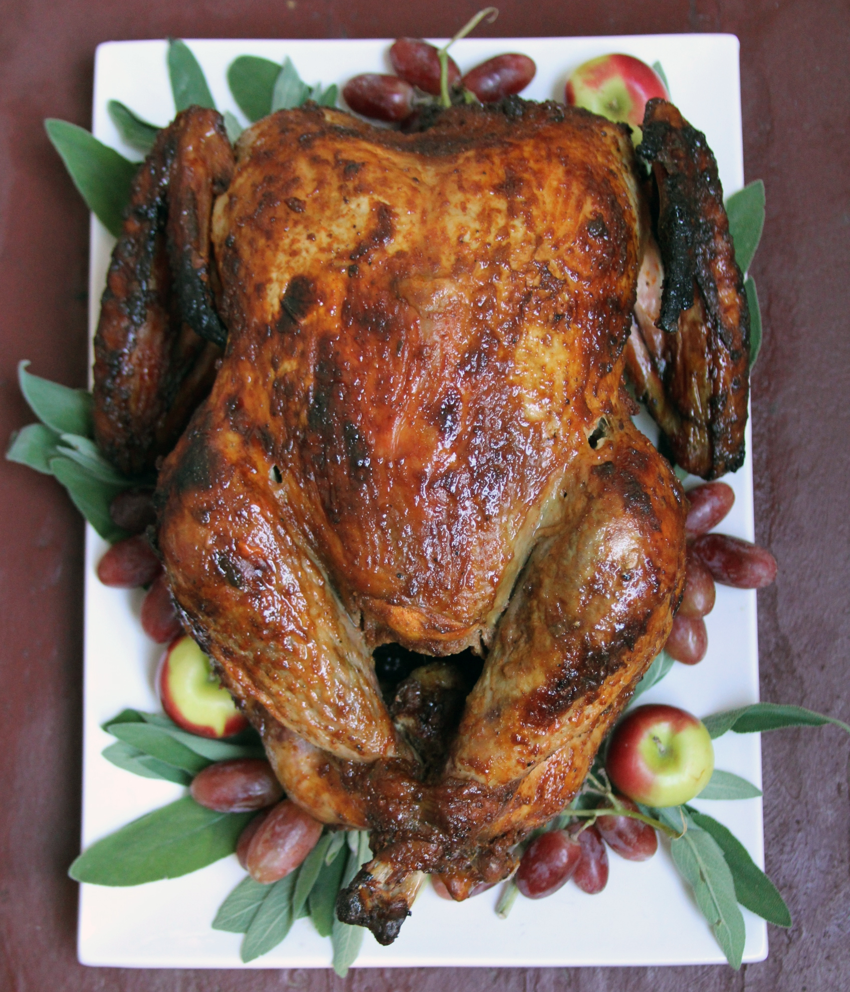 Bourbon-Glazed Turkey