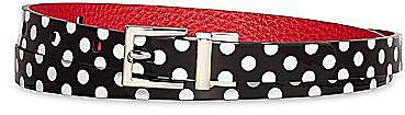 Lulu by Lulu Guinness® Reversible Polka-Dot Belt