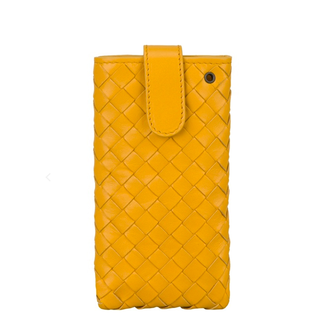 The golden yellow hue of this Bottega Veneta case ($373) is almost as buttery as the leather it's made out of.