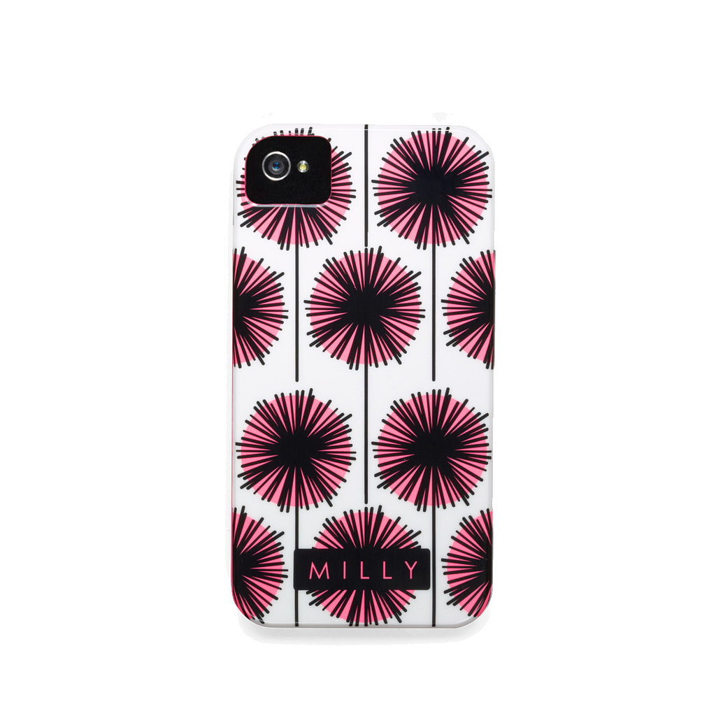 Reach for Milly's white and purple case ($40) if you're looking for more floral flair.