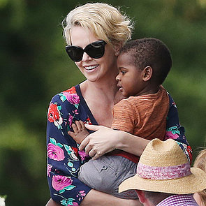 Charlize Theron in Sydney Pictures With Son Jackson