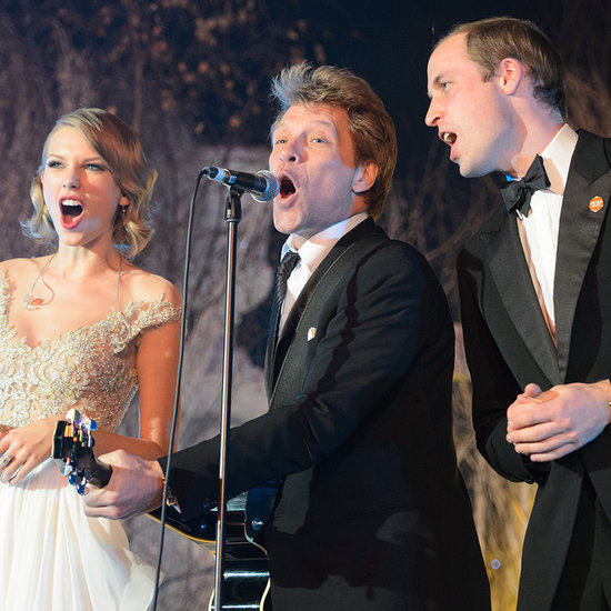 Taylor Swift Meeting Prince William | Pictures