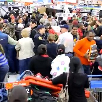 Black Friday Walmart Fight