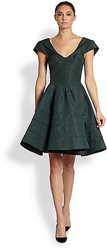 Zac Posen Silk Party Dress