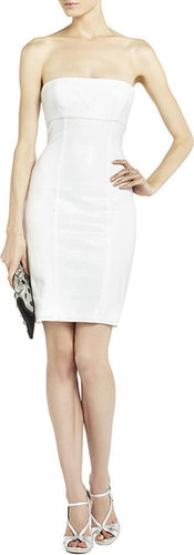 Angeline Sequined Panel Dress