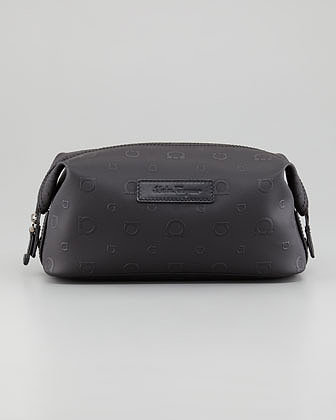 Salvatore Ferragamo Gancini-Stamp Toiletry Kit