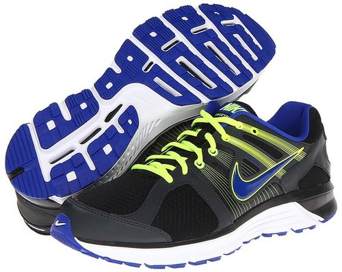 Nike - Anodyne DS (Black/Anthracite/Volt/Hyper Blue) - Footwear