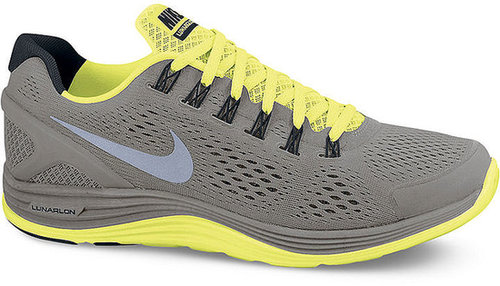 Nike Men's Lunarglide +4 Shield Sneakers from Finish Line