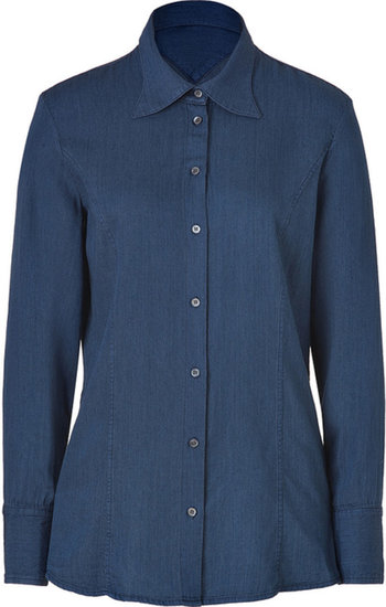 Theyskens Theory Indigo Bross Shirt