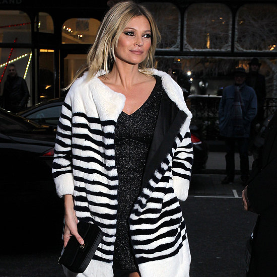 Kate Moss at British Fashion Awards 2013