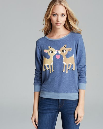 WILDFOX Pullover - Reindeer Kiss