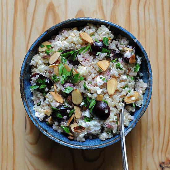 Easy: Quinoa Salad With Cherries