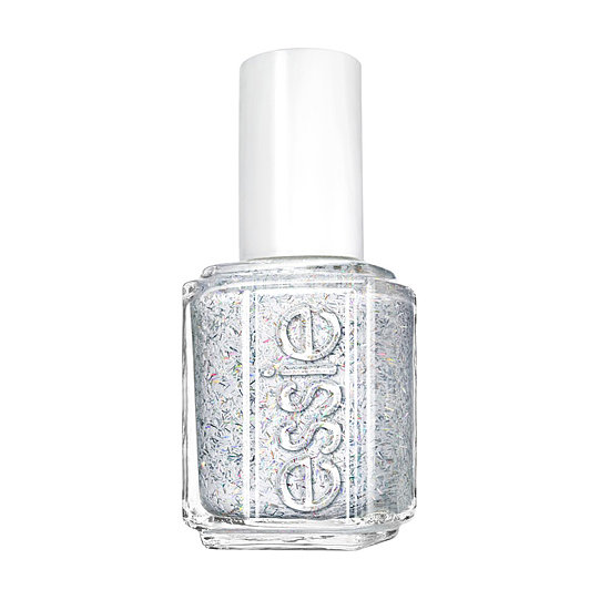 Make it snow on your nails with Essie Peak of Chic ($9). The white holographic strips of glitter will turn any manicure into a snow globe on your fingertips.