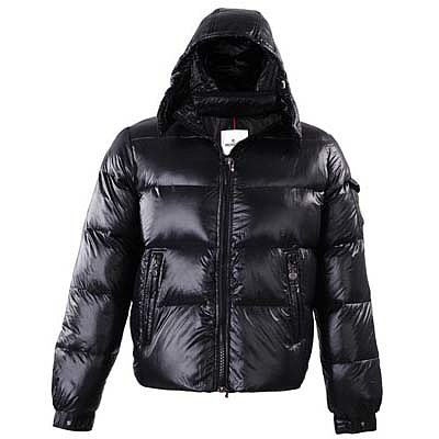 Moncler Mens Jackets Black 8895